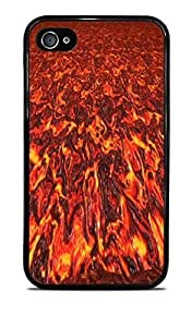 Hot Lava Black Silicone Case for iPhone 4 / 4S