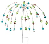The Paragon Yard Decoration Stake - Wind Dancer Beaded Stake, Outdoor Garden Decor