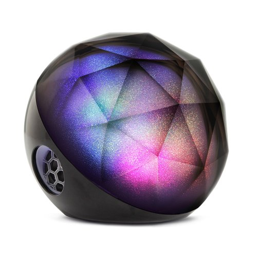 Yantouch Diamond+ PLUS Portable 3-in-1 Wireless Bluetooth Speaker, Smart Light, Natural Wake with 10 Hour Battery, Powerful Sound with Ehanced Bass, Wireless Remote Control (2014 Latest Improved Version) (Black)