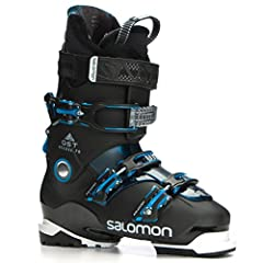 The Salomon QST Access 70 is a perfect ski boot for the true beginner to mellow intermediate skier looking for a medium to wide fit in both the forefoot and leg. Salomon's Ride & Hike Technology makes the QST Access 70 easy to walk in whe...