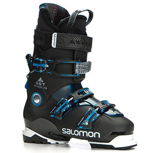 Salomon QST Access 70 Ski Boots 2018 - 29.5/Black-Petrol Blue-Aqua Blue