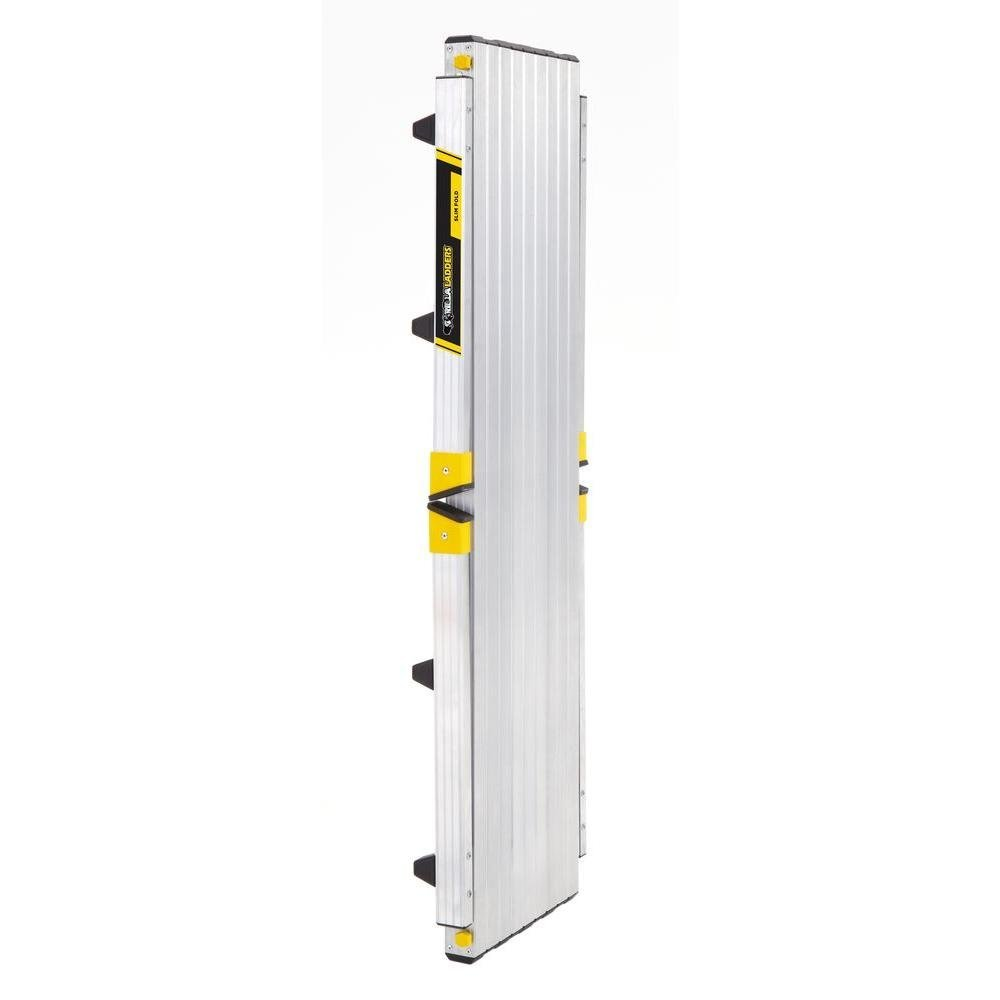 47.25'' x 12'' x 20'' Aluminum Slim-Fold Work Platform with 250 lb. Load Capacity by Gorilla Ladders (Image #6)