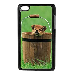Ipod Touch 4 Case Barrels Dog, Ipod Touch 4 Cases - [Black] Tyquin