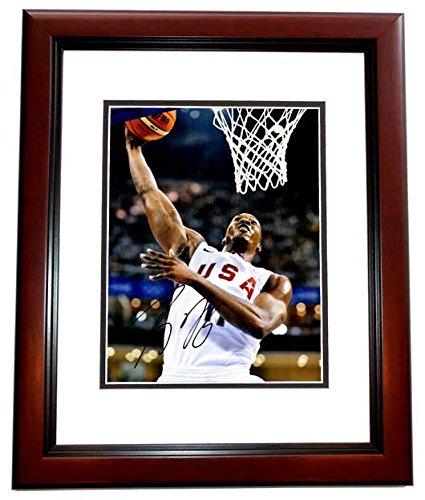 Dwight Howard Signed - Autographed TEAM USA Basketball 11x14 inch Photo MAHOGANY CUSTOM FRAME ()