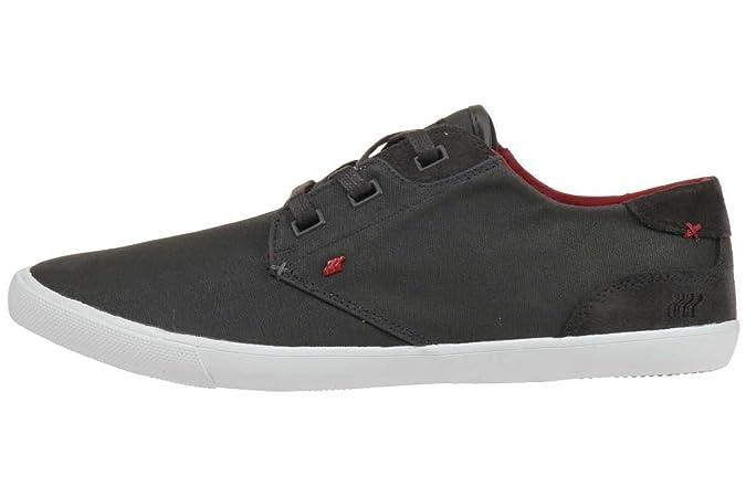 Sparko ICN Rip NYL, Herren Sneakers, Schwarz (Black/Chilli Red), 46 EU Boxfresh