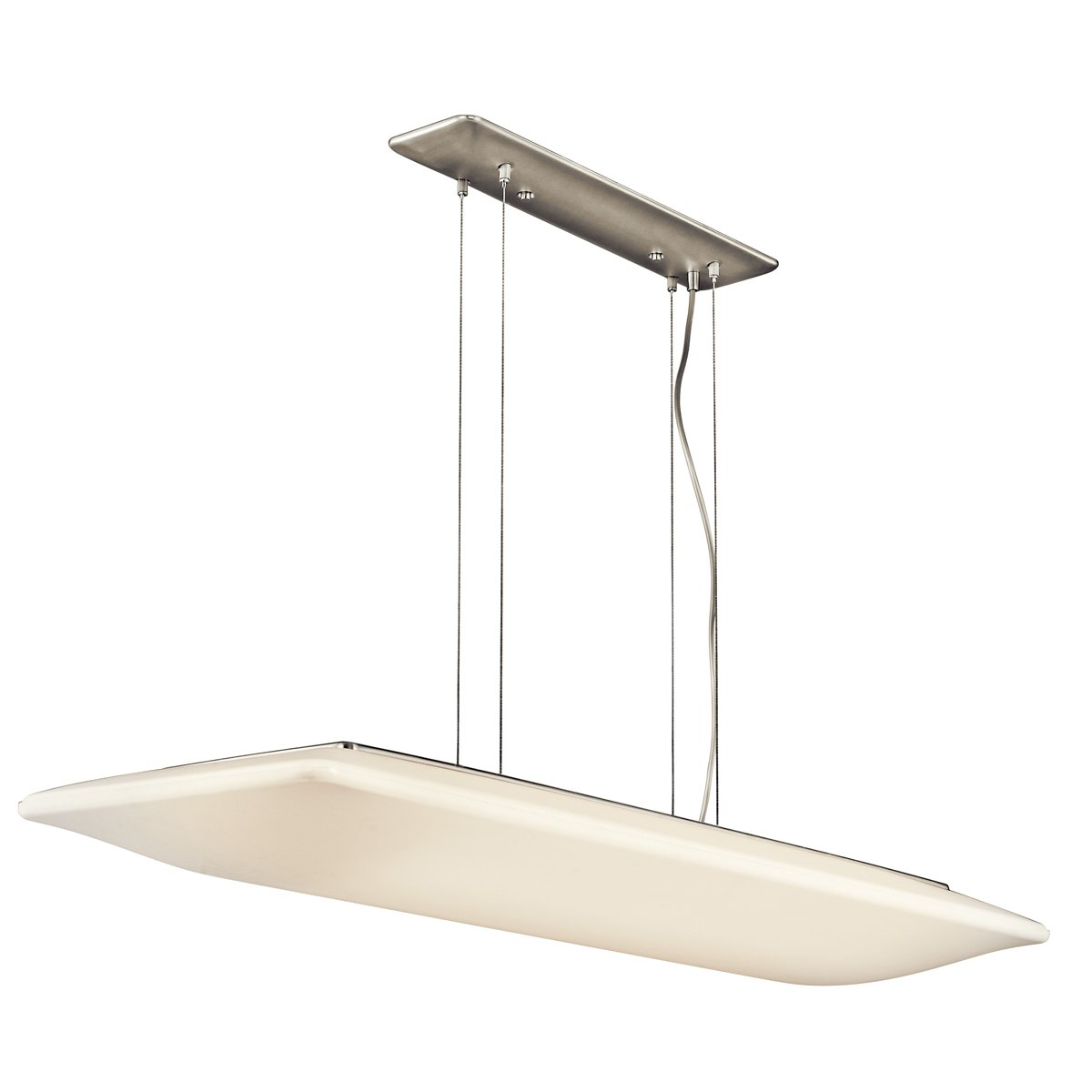 kichler lighting ni ara 4 light fluorescent rectangular