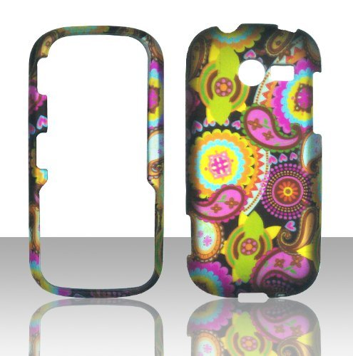 2D Multi Paisley Samsung Array / Montage M390 Case Cover Phone Snap on Cover Case Faceplates (Samsung M390 Phone Case)