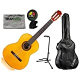 Protg by Cordoba C1 Full Size Acoustic Nylon String Guitar w/Gig Bag,...
