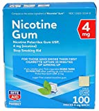 Rite Aid Nicotine Gum, Ice Mint Flavor, 4 mg - 100