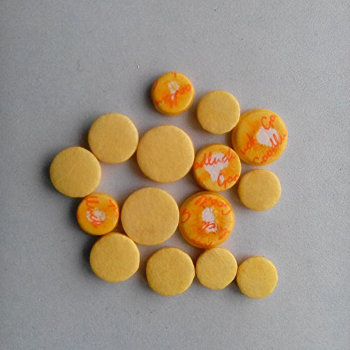 (Xuan Piccolo Pads Set Woodwind Repair Parts Yellow Color)