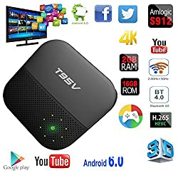Etopsell T95V Pro Android 6.0 TV Box Amlogic S912 Octa core 2GB/16GB 4K HD Dual-band WiFi Set-Top Box