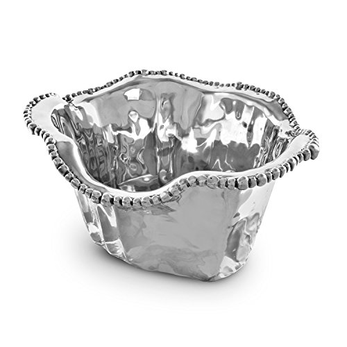Beatriz Ball Organic Pearl Ice Bucket, - Pewter Bucket Wine