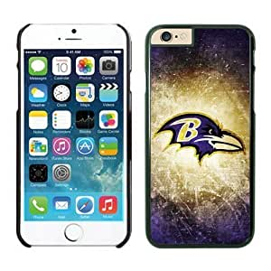 Baltimore Ravens Case For iPhone 6 Black 4.7 inches by kobestar