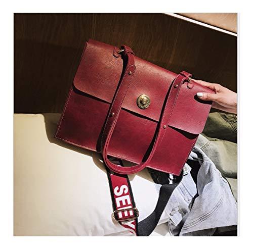 Borsa Xuzishan Bag Crossbody Semplice Donna Tracolla C b Piazza Blocco Da Fashion Pelle A Unica Soft Puro Messenger Swdqw4r