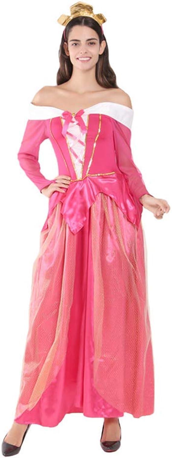 OwlFay Disfraz de Princesa Aurora Mujer Vestido de Bella ...