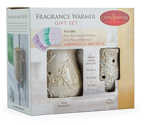 Candle Warmers Fragrance Warmer Gift Set - Chai by Candle Warmers (Image #4)