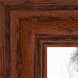 ArtToFrames 13x16 inch Walnut Stain on Solid Red Oak Wood Picture Frame, 2WOM0066-59504-YWAL-13x16