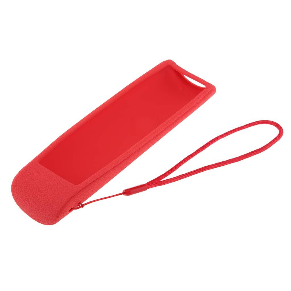 Noir F Fityle /Étuis de Protection pour Samsung BN59-01265A Housses Protecteur en Silicone pour T/él/écommande de T/él/éviseur