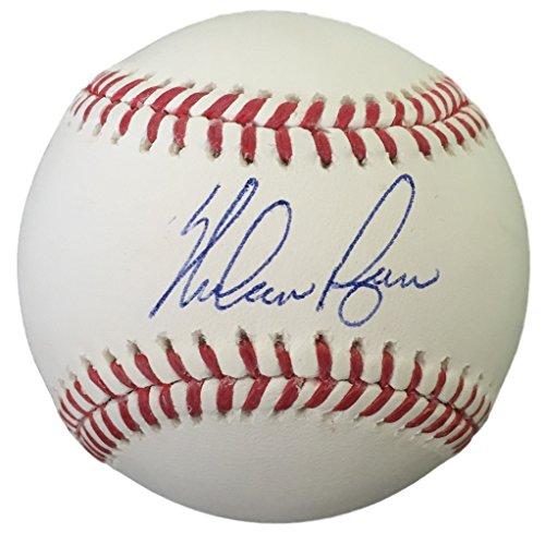Nolan Autographed Baseball (Nolan Ryan Autographed Rawlings Official Baseball JSA+Ryan)