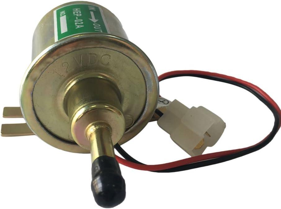 12 Volt Electronic Fuel Pump Priming Pump Diesel Pump Fit for YANMAR
