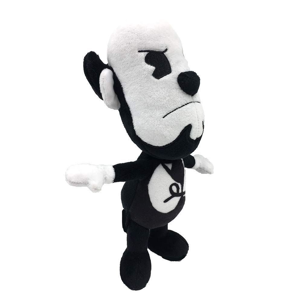 """Super Soft Cuddly Sturdy BLK White Small 7/"""" The Butcher Gang/'s Edgar Plush Toy"""