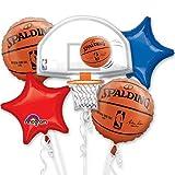 NBA Basketball Bouquet Of Balloons