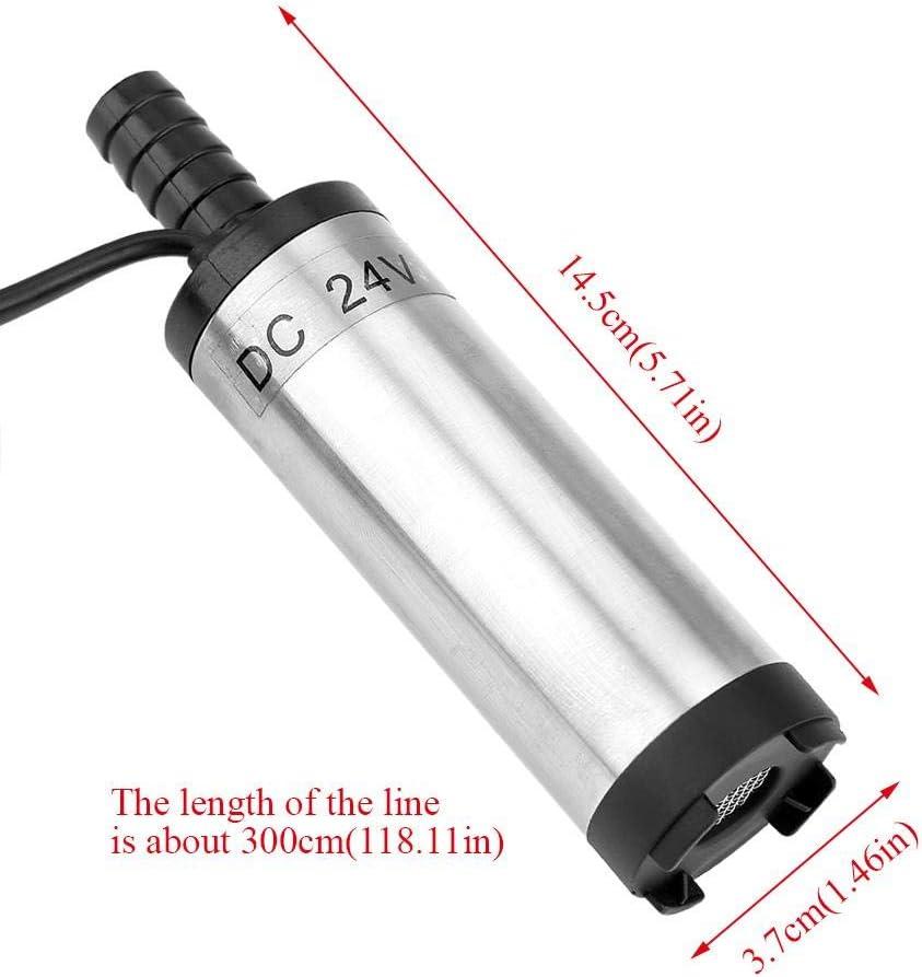 12 V 3,8 cm strumento di rifornimento di carburante diesel di cherosene dellacqua diesel di scarico pompa sommergibile di acciaio inossidabile di 12 l//min 8500 r//m