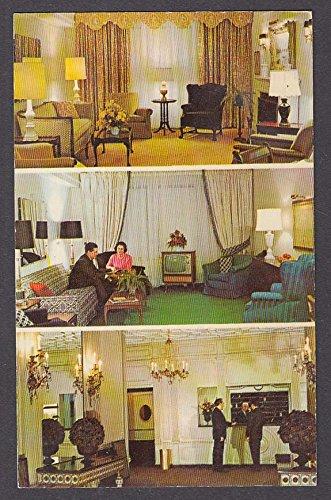 Hotel Salisbury 123 West 57th St New York NY 3-view postcard - New 57th St York