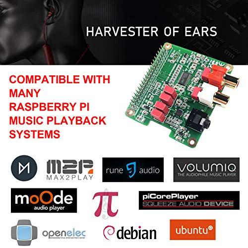 Inno-Maker Raspberry Pi HiFi DAC HAT PCM5122 HiFi DAC Audio