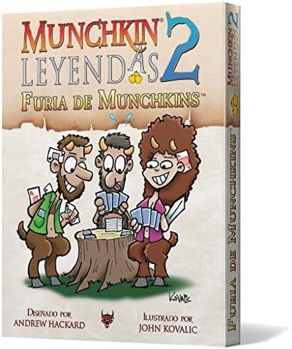 Edge Entertainment- Leyendas 2: Furia de Munchkins (EESJML02): Amazon.es: Juguetes y juegos