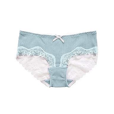 7d9ead656f Lialbert Mutandine Donna in Cotone Bikini Slip da Donna Confezione ...