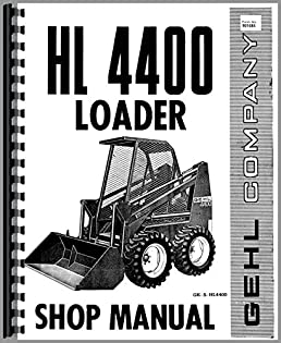 misc tractors gehl hl4400 skid steer service manual misc tractors rh amazon com Ohio University Bobcats Gehl Skid Steer