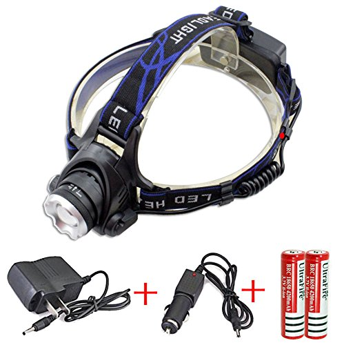 Waterproof Zoomable Adjust Focus Headlamp - 3