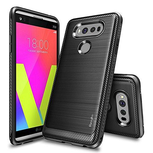 LG V20 Case, Ringke [Onyx] [Resilient Strength] Flexible Durability, Durable Anti-Slip, TPU Defensive Case for LG V20 - (Virgin Mobile Smartphone Cases)