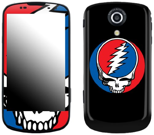 Zing Revolution MS-GRFL60215 Grateful Dead - Steal Your Face Cell Phone Cover Skin for Samsung Epic 4G Galaxy S (SPH-D700)