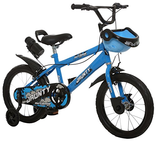 Outdoor® Cycle Jaunty 16 Inch Bicycle for 5 to 8 Years Age Group, Semi  Assembled with Instruction Manual & Toolkit