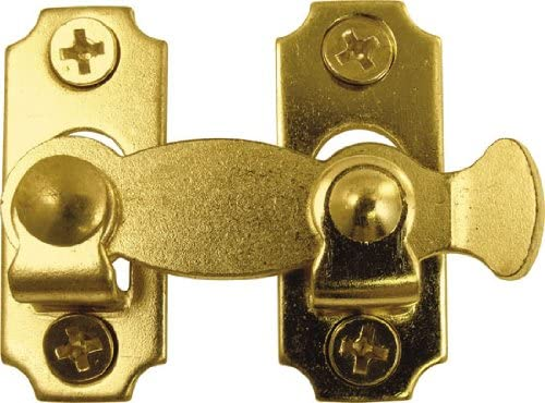 Hickory Hardware VF333BL Black Push Button Latch