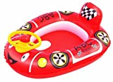 H2OGO! Racer Baby Care Seat Inflatable Pool Float by Bestway Toys Domestic
