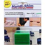 Handi-Shim, Green HS13240GR Plastic Construction