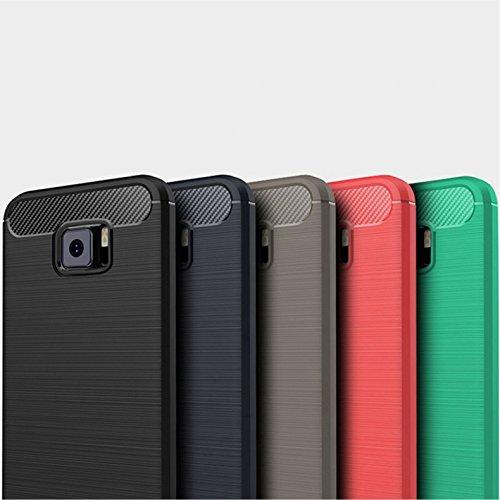 Funda ASUS ZenFone V V520KL,Funda Fibra de carbono Alta Calidad Anti-Rasguño y Resistente Huellas Dactilares Totalmente Protectora Caso de Cuero Cover Case Adecuado para el ASUS ZenFone V V520KL C
