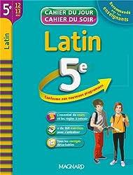 Latin 5e : cahier de révision et d'entraînement
