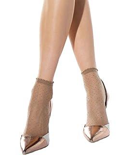 9b97cd4502a Lulu women vintage pin up polka dot pattern suspender stockings · £8.99 ·  Ladies summer pattern sheer ankle socks Call