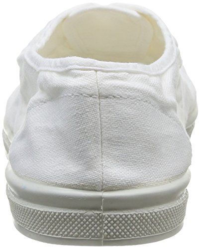 Bensimon Tennis - Zapatillas de Deporte de canvas hombre Blanco - Blanc (Blanc 101)