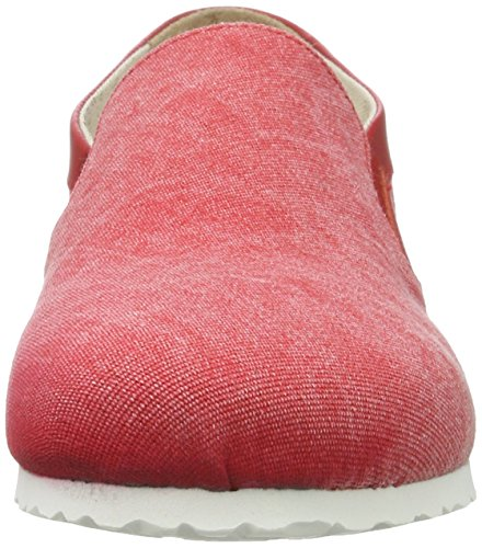 Birkenstock Jenks, Mocasines para Mujer Rot (Red)