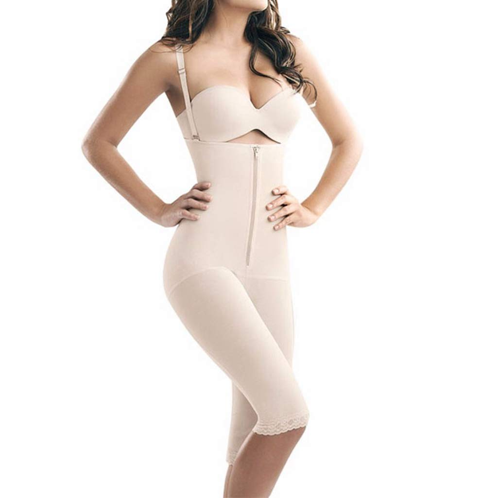 34377f42bfe1 women shapewear– The pull-up shapewear compresses your entire midsection  including your butt and thighs. It tightens your tummy and is built to  start ...