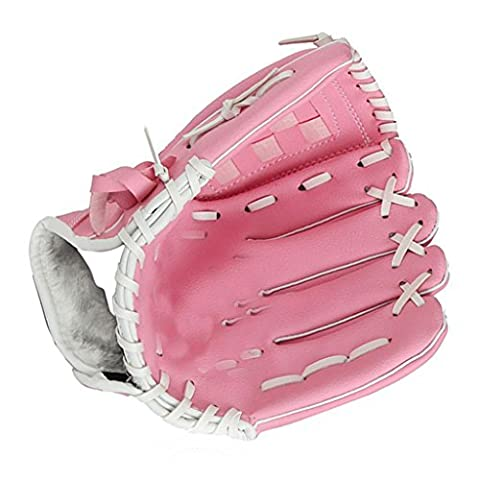 YISUMEI Baseball Infielders Playmaker Glove For Youth Adult Pink 12.5