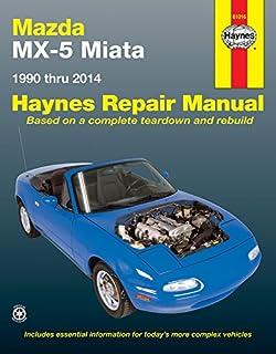 mazda mx 5 miata 1 6 enthusiast s workshop manual series rod rh amazon com 1992 mazda miata manual free 1992 mazda miata manual free