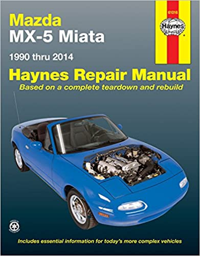 >>FULL>> Mazda MX-5 Miata 1990 Thru 2014: Does Not Include Information Specific To Turbocharged Models (Haynes Repair Manual). hasta backyard Cuenta faltaron default