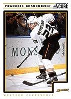 2012/13 Score NHL Hockey Card # 51 Francois Beauchemin Anaheim Ducks