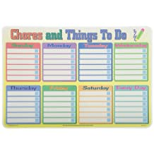 PAINLESS LEARNING PLACEMATS-Calendar/Chores-Placemat
